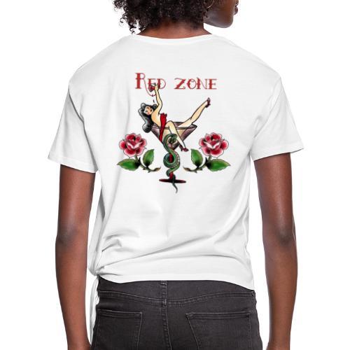 Red Zone - Camiseta con nudo mujer