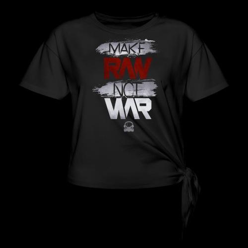 Official Rawstyle Nation - Vrouwen Geknoopt shirt