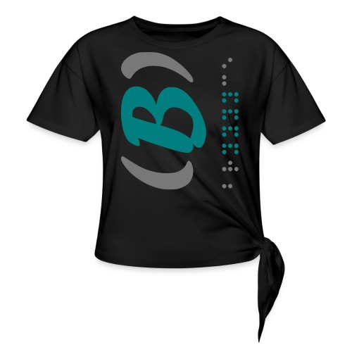LVET M' grey rode 1.0 - T-shirt à nœud Femme