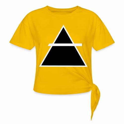 ALKIMASTA LOGO (THE AIR) - T-shirt à nœud Femme