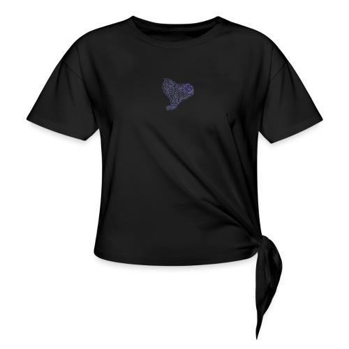 Cuor di Tartaruga Cuore Armato - Maglietta annodata da donna