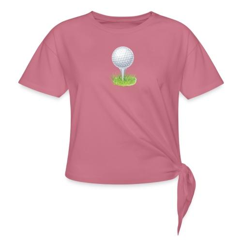 Golf Ball PNG Clipart - Camiseta con nudo