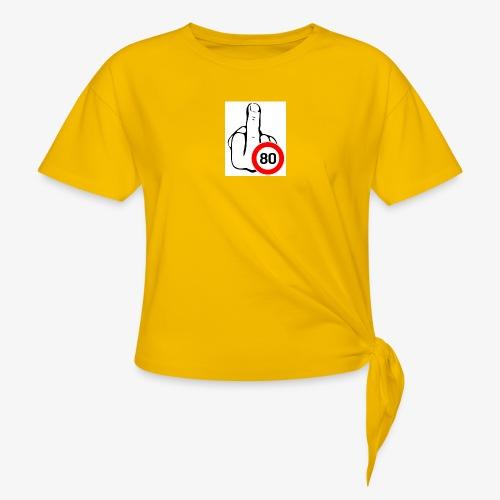 Doigt Coeur - T-shirt à nœud Femme