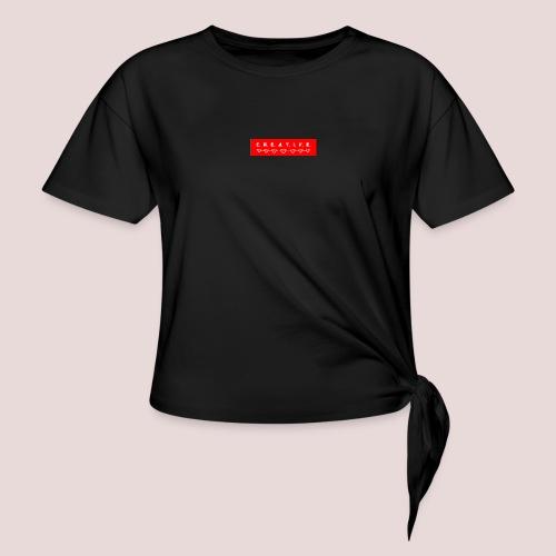 CREATIVE - Camiseta con nudo