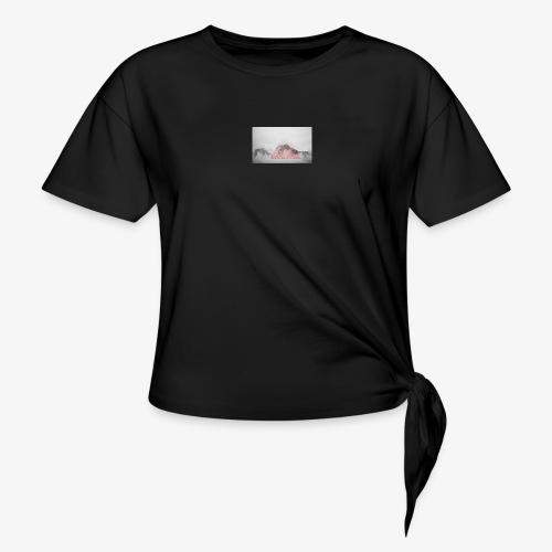 Larrun - T-shirt à nœud
