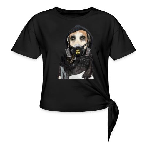 Cane Post-Apocalittico - Maglietta annodata da donna