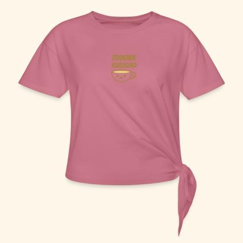 Flydende kærlighed - Dame knot-shirt
