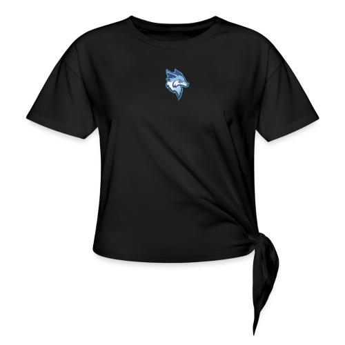 ClutcherZz logo - T-shirt à nœud