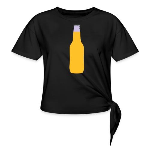 Bierflasche - Knotenshirt