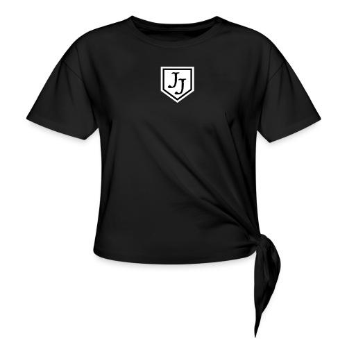 JJ logga - T-shirt med knut