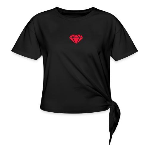 Logomakr_29f0r5 - Knotted T-Shirt