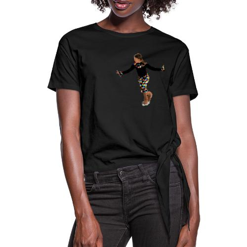 Harlekin - Frauen Knotenshirt