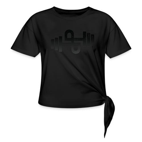 Perfect Program Black - Frauen Knotenshirt