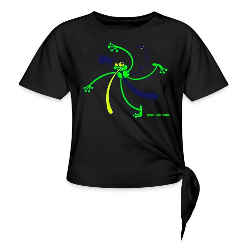 Dancing Frog - Knotted T-Shirt