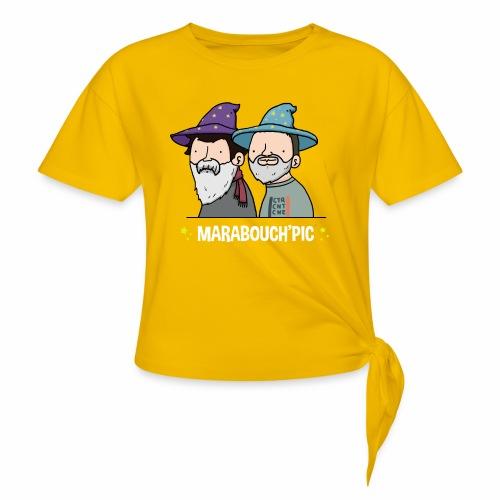 Marabouch'pic - T-shirt à nœud
