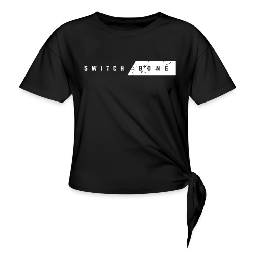 Switchbone_white - Vrouwen Geknoopt shirt