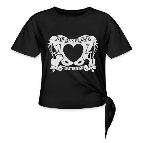 Hip Dysplasia Awareness - Women's Knotted T-Shirt