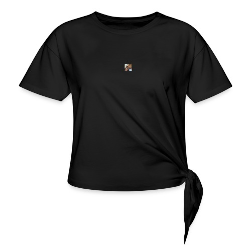 photo 1 - Women's Knotted T-Shirt