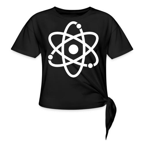Atommodell - Frauen Knotenshirt