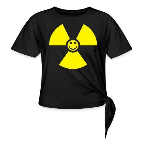 Atom! - T-shirt med knut dam