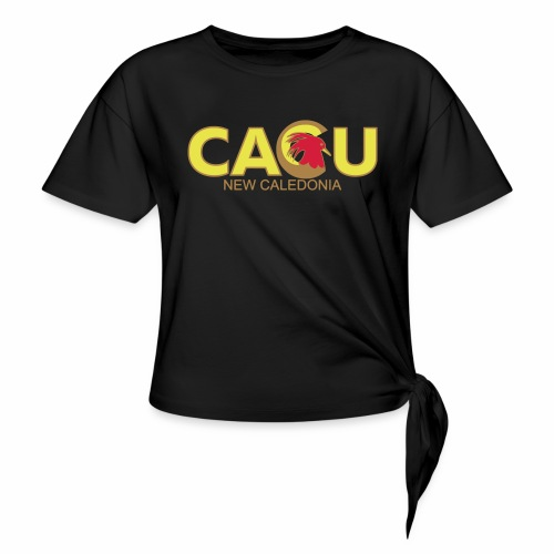chem - T-shirt à nœud