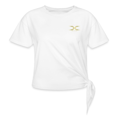 Triple Cross - Women's Knotted T-Shirt