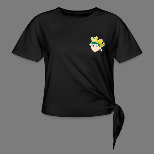 Wear a Crown - Women's Knotted T-Shirt