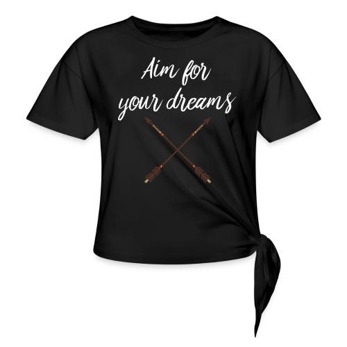 Aim for your Dreams white - Solmupaita