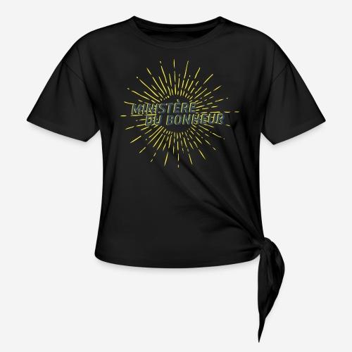 Ministère du Bonheur - T-shirt à nœud Femme