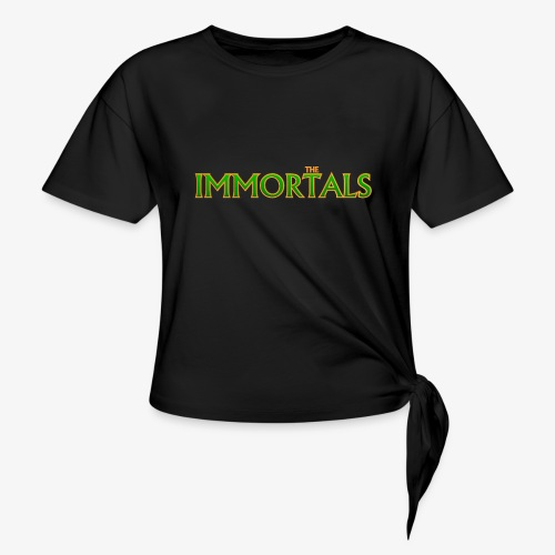 Immortals - Women's Knotted T-Shirt