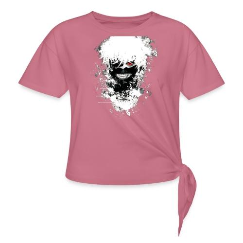 Tokyo Ghoul Kaneki - Women's Knotted T-Shirt