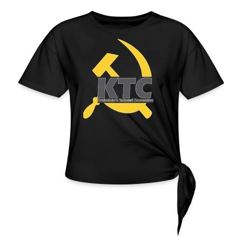 kto communism shirt - T-shirt med knut dam