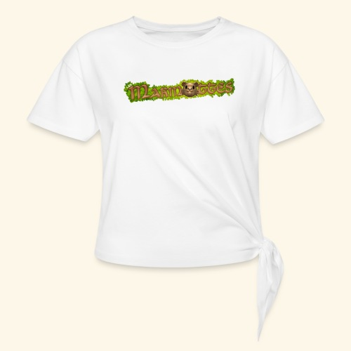 marmottes logo HD - T-shirt à nœud