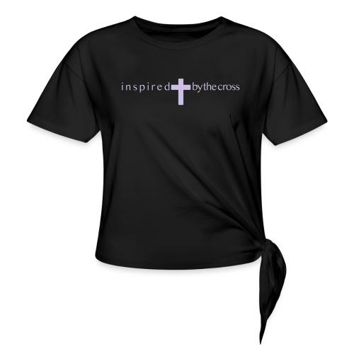 Inspired by the cross - T-shirt à nœud