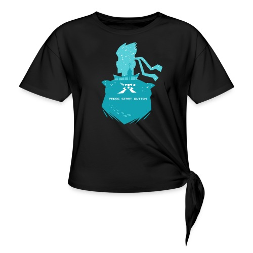 Shadow Moses - Women's Knotted T-Shirt