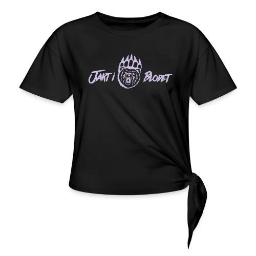 Fleece Jacka Dam - T-shirt med knut