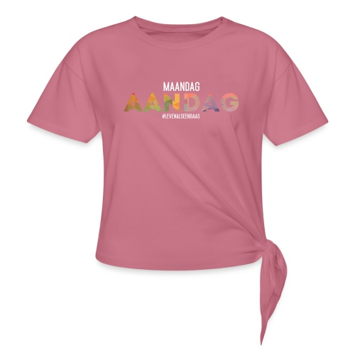 AANdag - Vrouwen Geknoopt shirt
