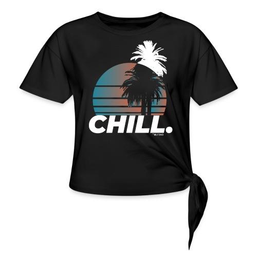 Chill. - Maglietta annodata da donna