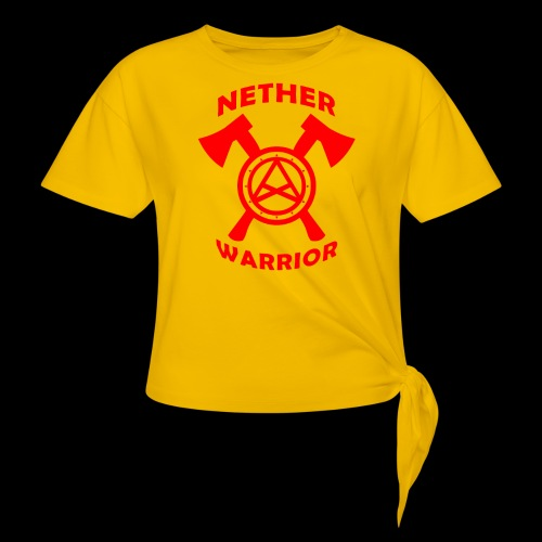 Nether Warrior T-shirt - Maglietta annodata da donna