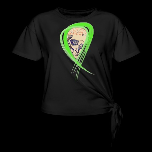 Mental health Awareness - Knotted T-Shirt