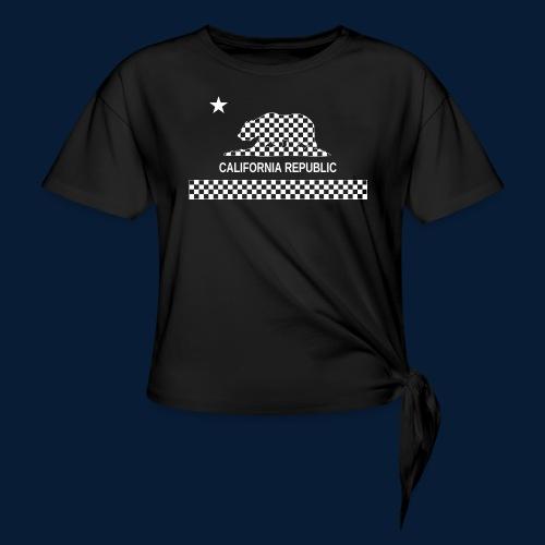 California Republic - Frauen Knotenshirt