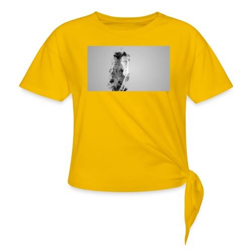 Art et Design - T-shirt à nœud Femme
