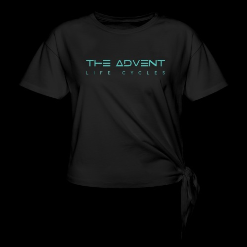 The Advent - Life Cycles #5 - Women's Knotted T-Shirt