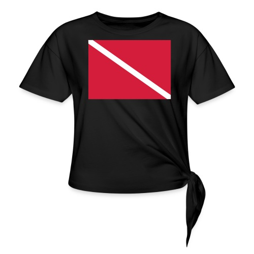 Diver Flag - Knotted T-Shirt