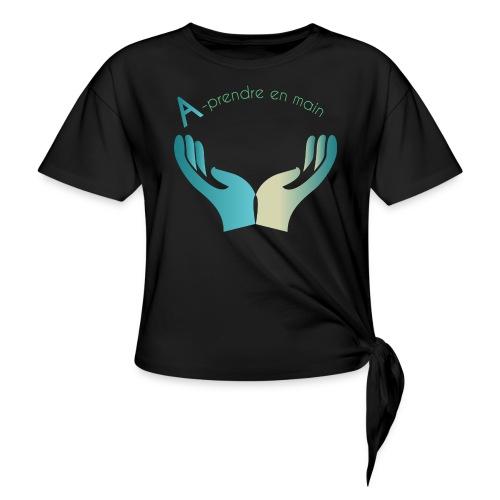Association A prendre en Main - T-shirt à nœud
