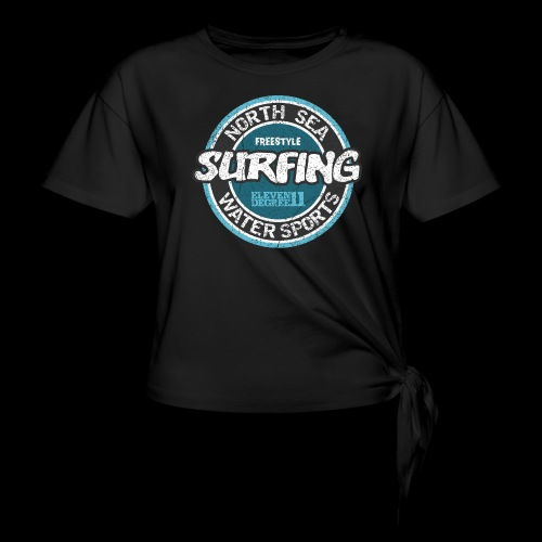 North Sea Surfing (oldstyle) - Knotted T-Shirt