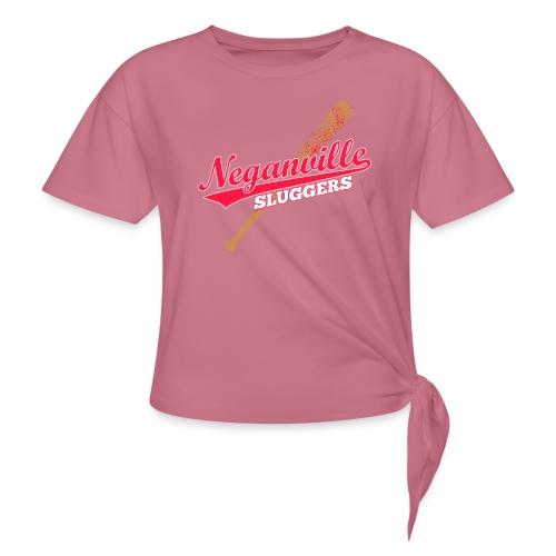 Neganville Sluggers - Women's Knotted T-Shirt