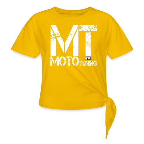 MotoTuning Logo - Women's Knotted T-Shirt