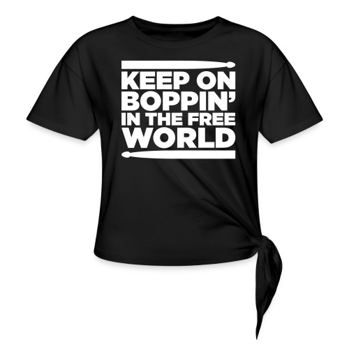 Keep on Boppin' - Knotted T-Shirt
