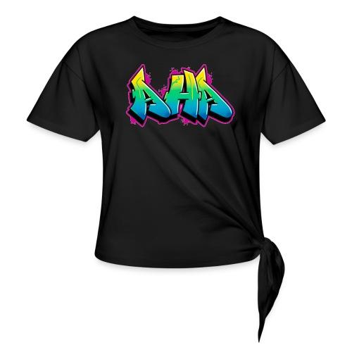 Aha - Frauen Knotenshirt